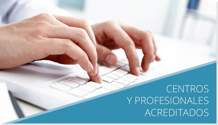 Centros y Profesionales Acupuntores Acreditados