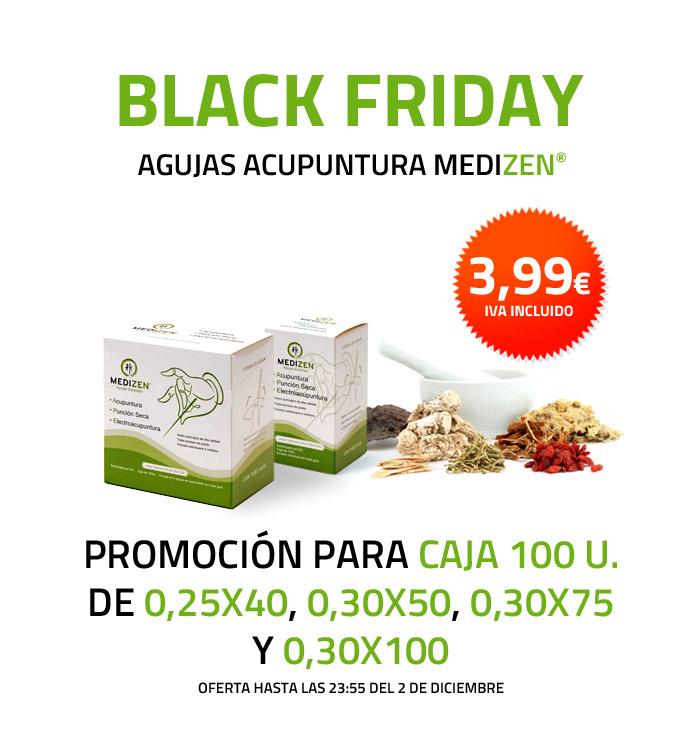 Agujas acupuntura MEDIZEN (caja de 100 uds) Oferta Black Friday