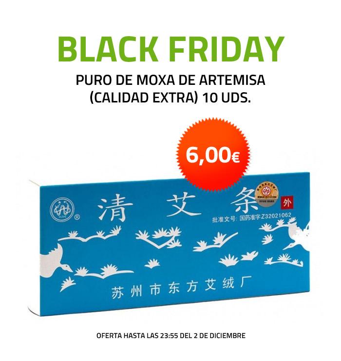Puro de moxa de Artemisa (calidad extra) 10 uds. Oferta Black Friday